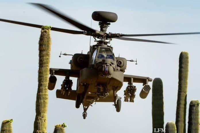 Boeing liefert Echo-Apache-Kampfhubschrauber AH-64E