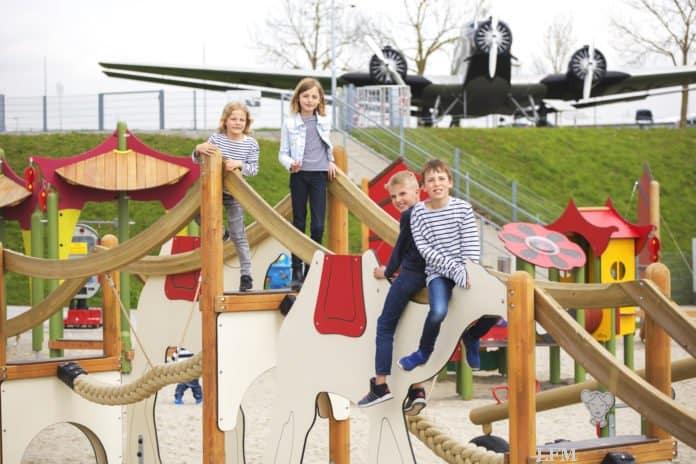 Flughafen München: Besucherpark Spielplatz