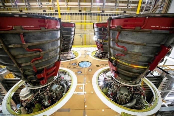NASA bestellt weitere Raketentriebwerke für Schwerlastrakete SLS