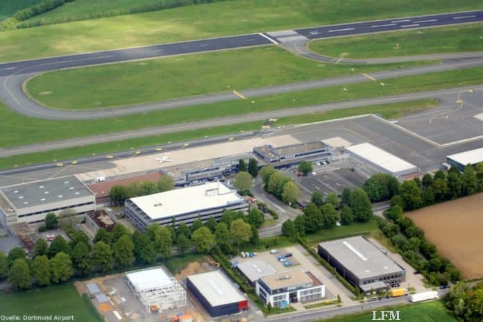 Flughafen Dortmund begrüßte 3.576 Fluggäste im April
