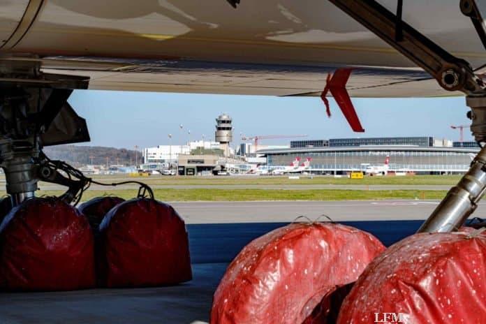 Flughafen Zürich verzeichnet 99% weniger Passagiere