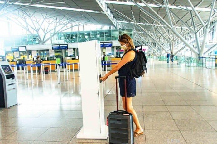 Flughäfen haben Hygiene-Infrastruktur für Passagiere