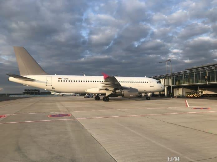 Paderborn-Lippstadt Airport Apron