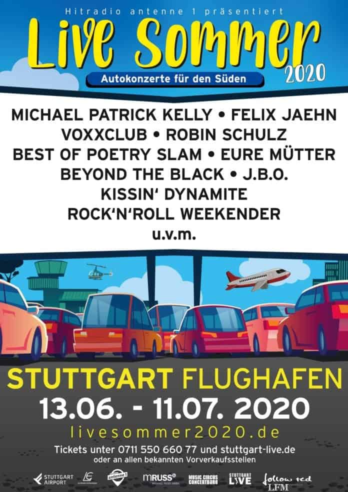 Flughafen Stuttgart lädt zum LiveSommer-Festival
