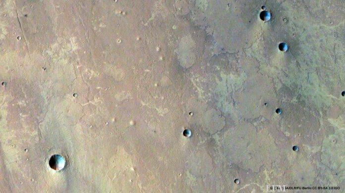 Schlammvulkane auf dem Mars