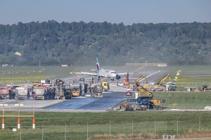 Flughafen Stuttgart: Letzte Phase der Runway-Erneuerung