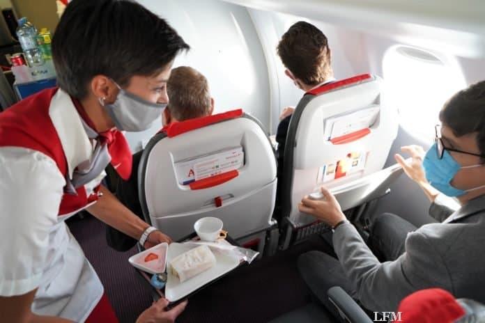 Austrian Airlines Service Business Class