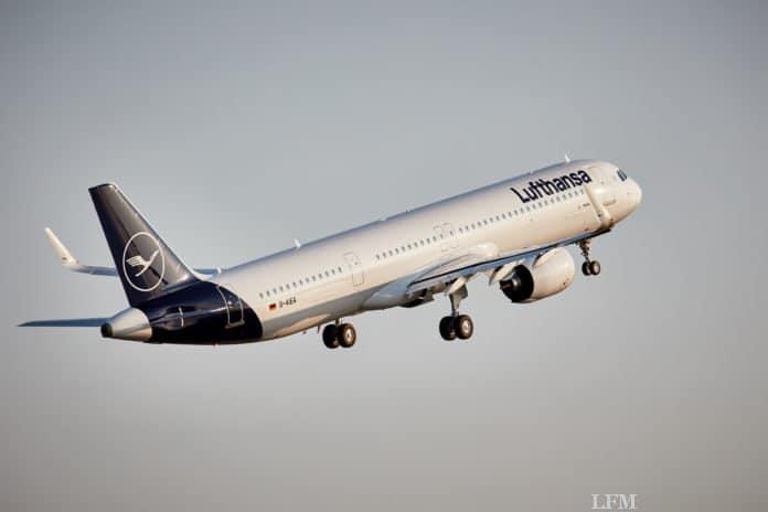 Lufthansa Airbus A321 Neo, AIEA, Takeoff