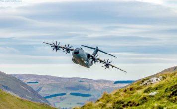 Airbus A400M beherrscht automatischen Tiefflug