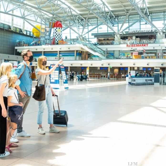 Hamburg Airport zieht Zwischenbilanz der Sommerferien