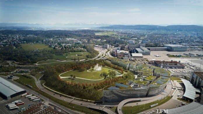 Flughafen Zürich, Luftbild