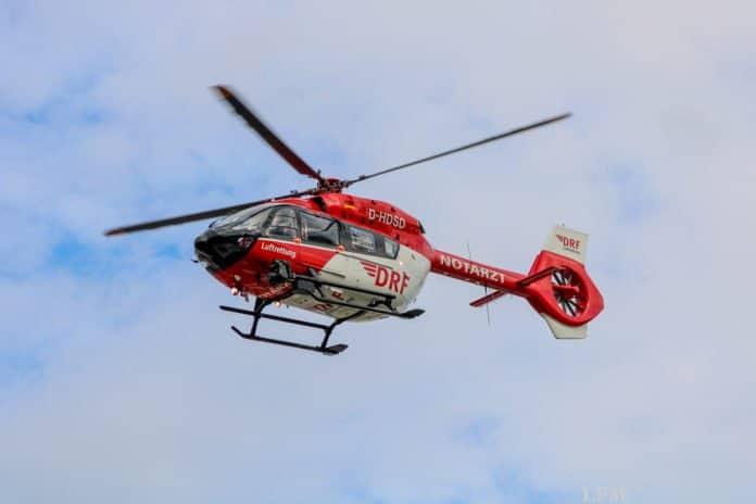 """""""Christoph 42"""" (H145) der DRF Luftrettung in Rendsburg"""