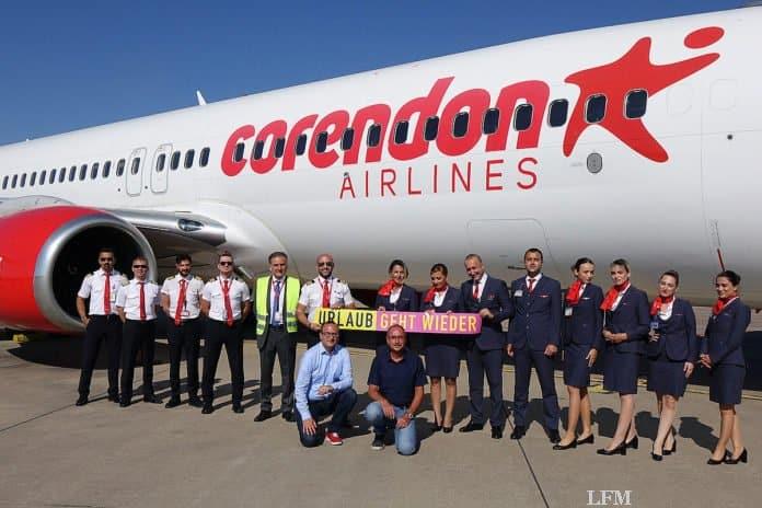 Corendon Airlines fliegt ab Flughafen Münster/Osnabrück (FMO)