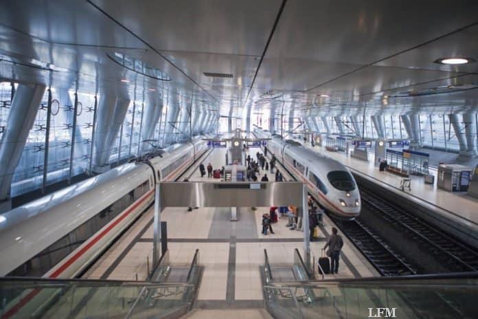 Airail-Terminal Frankfurter Flughafen