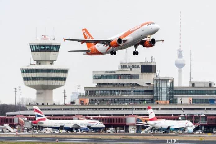 easyJet startet am Flughafen Berlin-Tegel