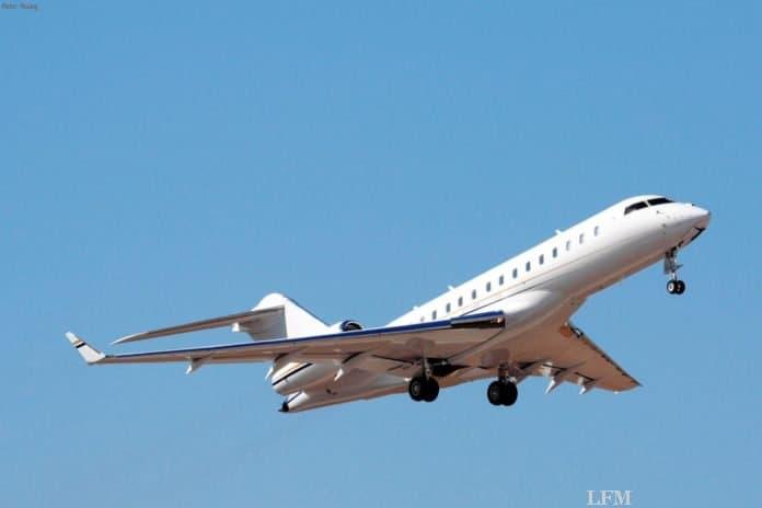 Bombardier Global Express trotz Corona zur PPI bei Ruag