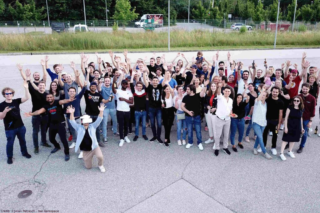 Isar Aerospace – Das Team des Start-Ups Isar Aerospace Technologies GmbH in Ottobrunn