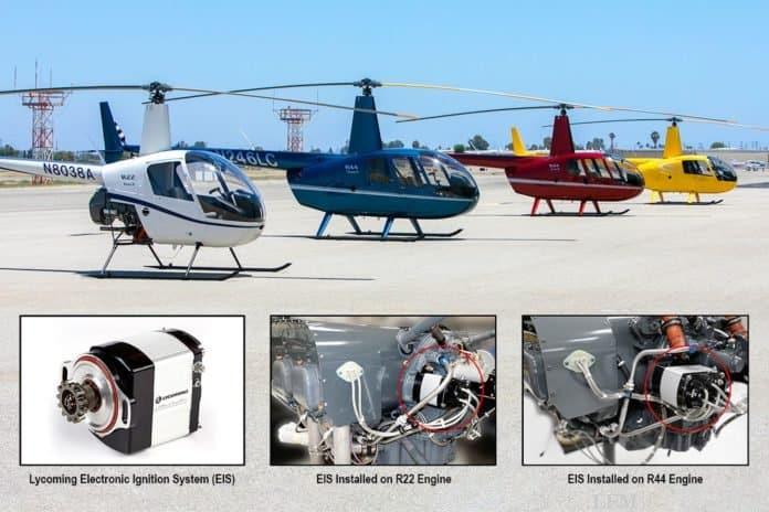 Robinson Helicopter künftig mit Lycoming EIS-Zündung