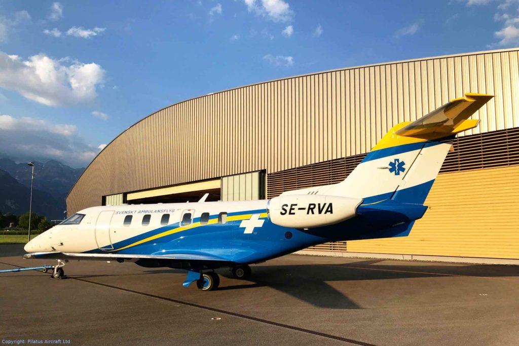 Pilatus PC-24 Ambulanzflugzeug