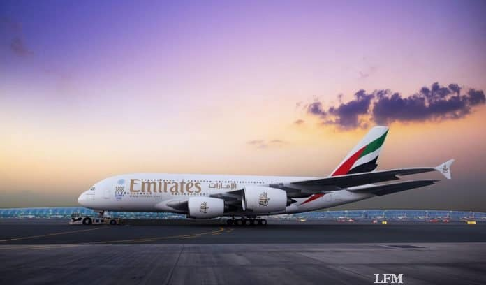 Airbus A30 von Emirates