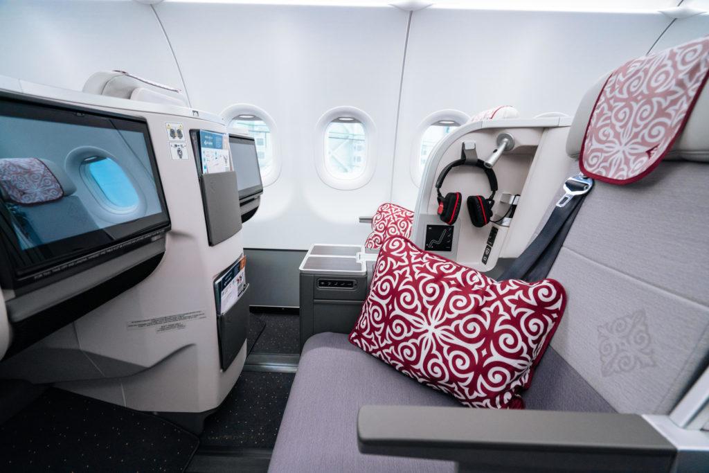 Air Astana Airbus A321LR - Business Class