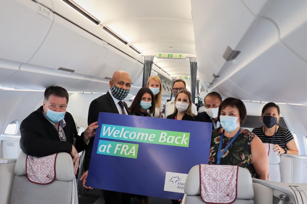 Air Astana nimmt regulären Flugbetrieb ab Frankfurt wieder auf