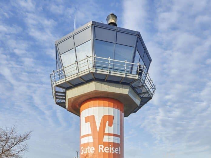 Tower am Flughafen Dortmund