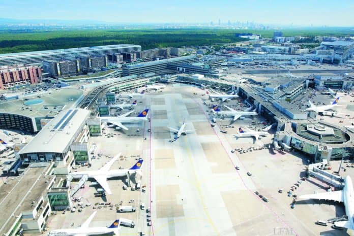 Fraport Terminal 1 - Luftaufnahme