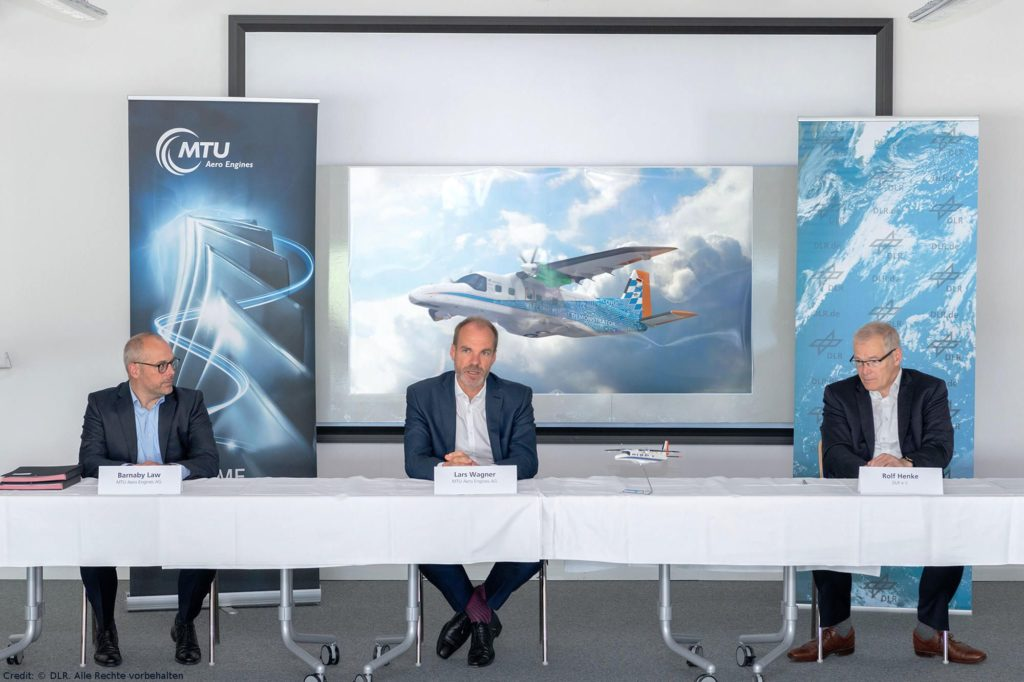 MTU Aero Engines und DLR