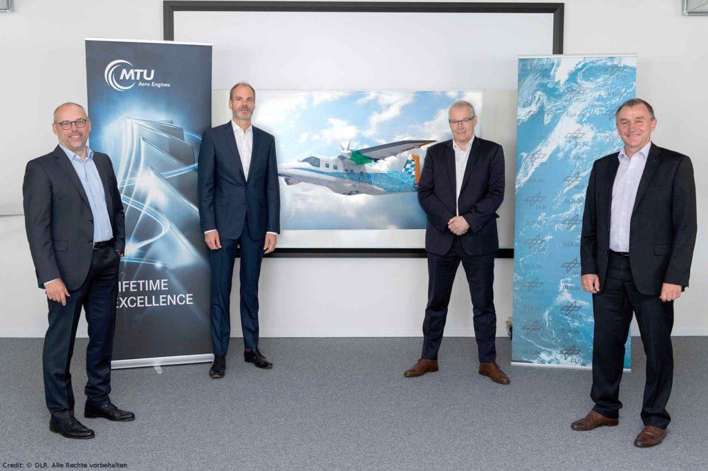 DLR und MTU Aero Engines unterzeichnen Memorandum of Understanding