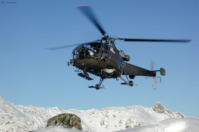 Alouette III des österreichischen Bundesheeres
