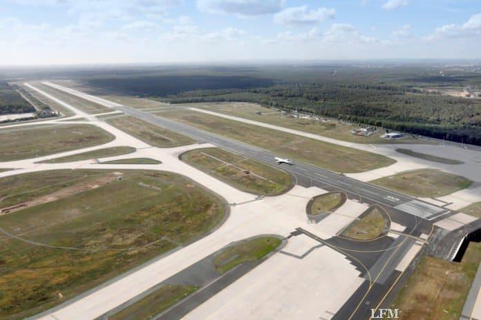 Flughafen Frankfurt Luftaufnahme