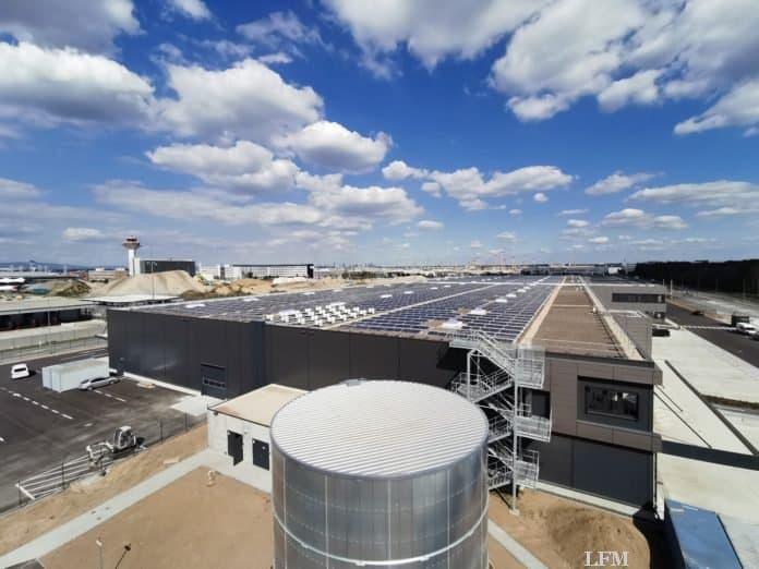 Swissport Photovoltaik-Anlage
