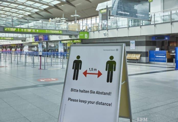 Dortmund Airport bietet weiterhin kostenfreie Corona-Tests