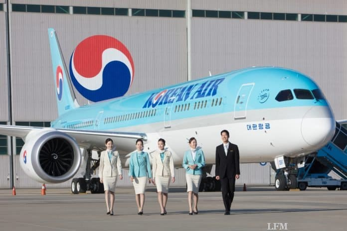 "Korean Air belegt zum 16. Mal Platz 1 des ""GCSI"""