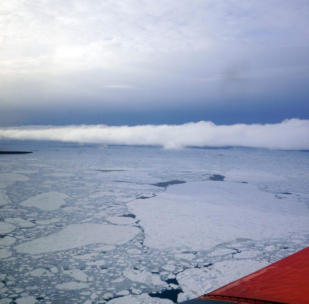 Arktische Wolke