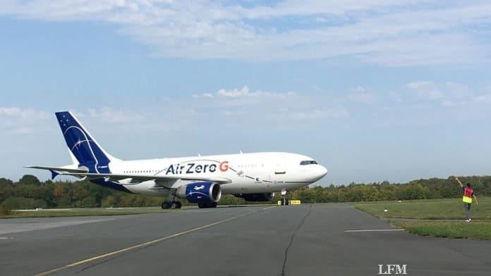 Parabelflug: Ankunft Paderborn, A310 ZERO-G nach der Landung