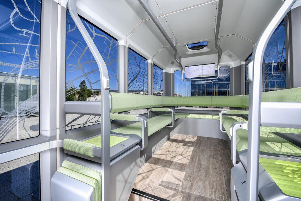Personenkapseln als On-demand-Shuttle oder Hightech-Rufbus