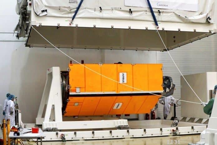 Sentinel-6 Meeresbeobachtungssatellit abflugbereit