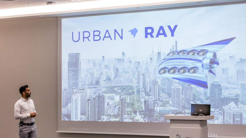 Präsentation des Konzepts Urban Ray
