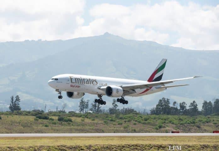 Emirates SkyCargo-Frachter