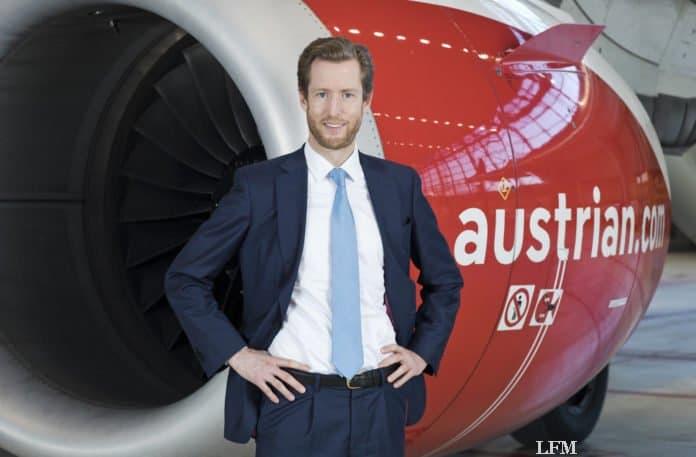 Austrian Airlines CEO Alexis von Hoensbroech