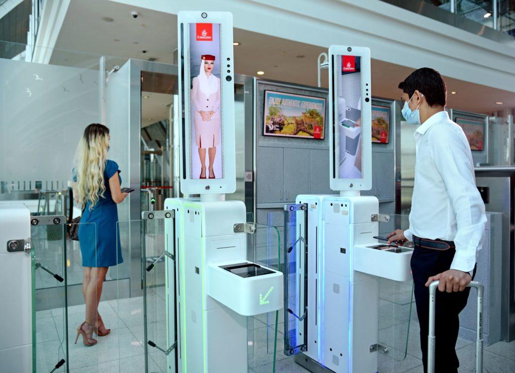 Biometrischer Pfad von Emirates