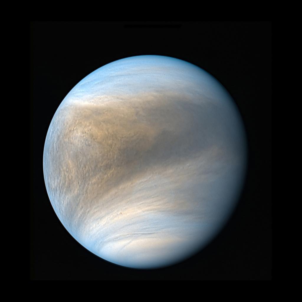 Die Venus aus dem Blickwinkel der japanischen Raumsonde Akatsuki