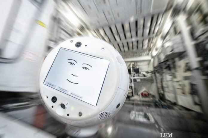 Cimon-2 bei Tests im EAC