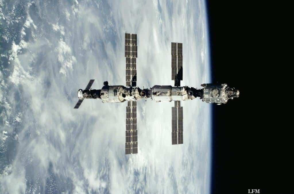 ISS im September 2000