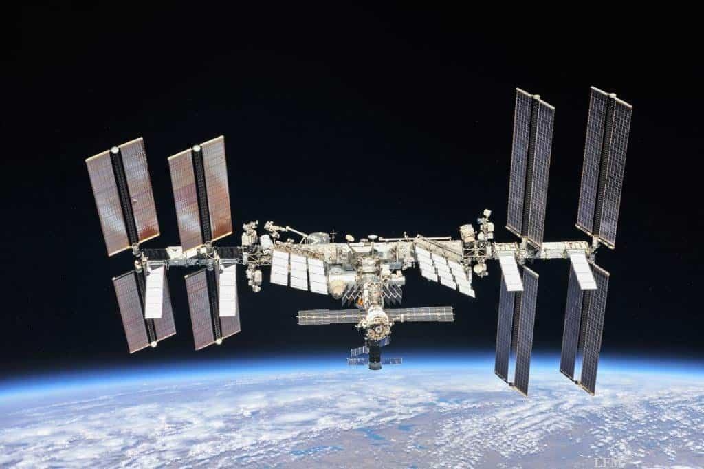 ISS im Oktober 2018