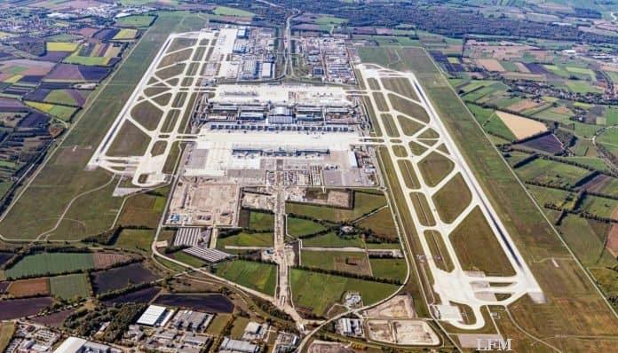 Flughafen München Luftaufnahmen