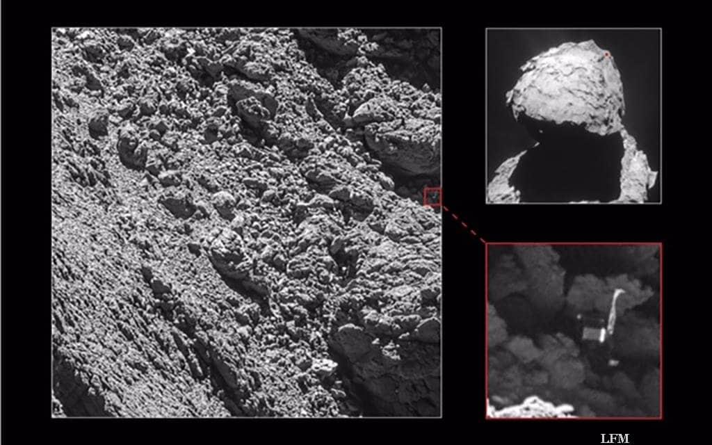 Philae kurz vor Missionsende gefunden