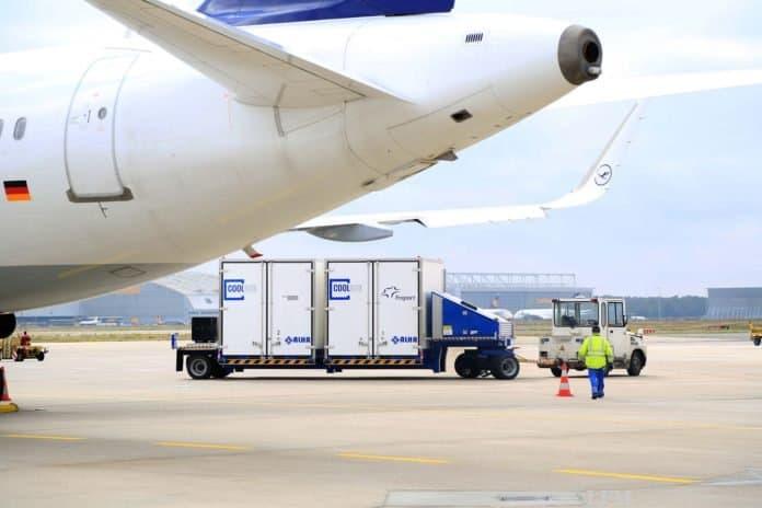 Pharmatransporter am Fraport